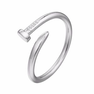 New! .925 Sterling Silver Adjustable Nail Ring